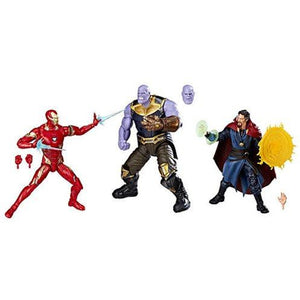 Marvel Legends Cinematic Universe 10th Anniversary Avengers: Infinity War 6-Inch Action Figure 3-Pack
