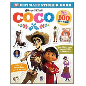 Disney Pixar Coco: Ultimate Sticker Book Paperback Book