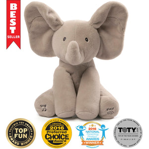 Baby Animated Flappy Elephant Plush Toy