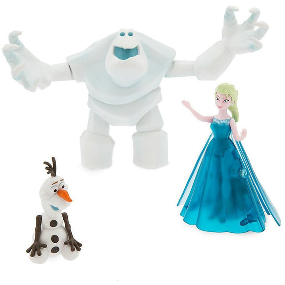 Elsa Light-Up Dress Figure Play Set