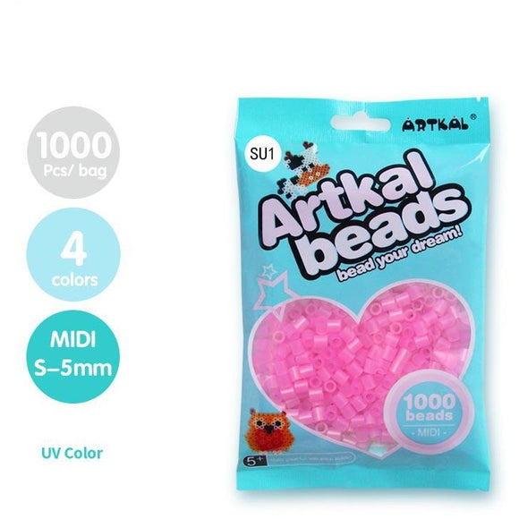 Artkal Fuse Beads 5 mm UV (4 Colors)