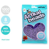 Artkal Fuse Beads 5 mm Pearl (8 Colors)