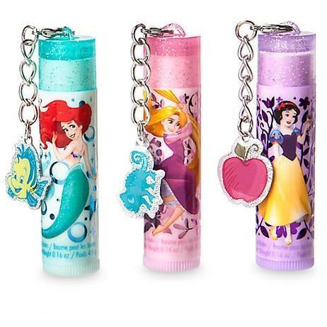 Disney Princess Flavored Lip Balm Set