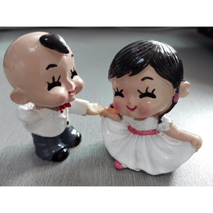 Baby Let's Dance Resin Figures