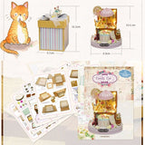 Candy Cat DIY Small Dollhouse