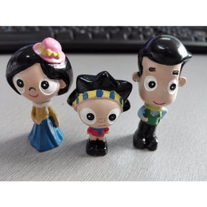 Modern Family Resin Figures