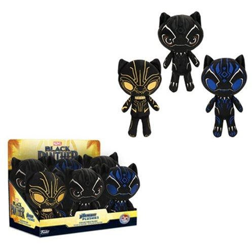 Black Panther Plushies (sold separately)