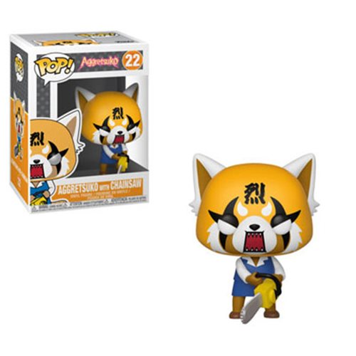 Aggretsuko Retsuko with Chainsaw Funko Pop! Vinyl Figure