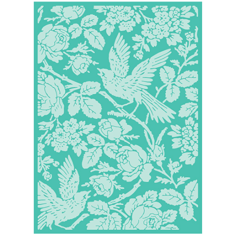 Anna Griffin® Aviary Embossing Folder 5x7