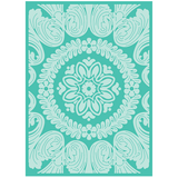 Anna Griffin® Ornate Medallion Embossing Folder