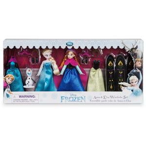 Anna and Elsa Mini Doll Wardrobe Play Set - Frozen