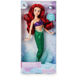 Ariel Classic Doll with Ring - The Little Mermaid - 11.5""