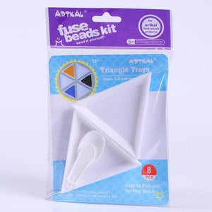 Artkal Triangle Tray Set of 8
