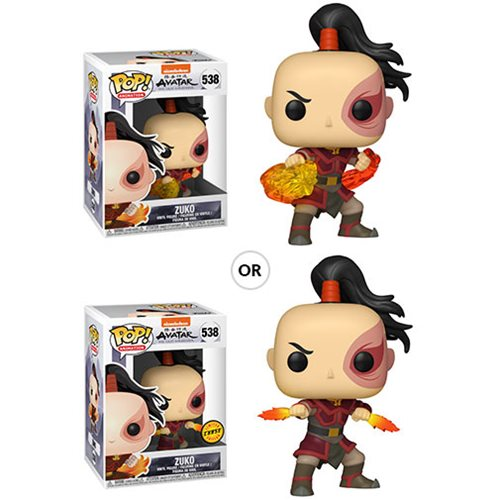 Avatar: The Last Airbender Zuko Funko Pop! Vinyl Figure #538