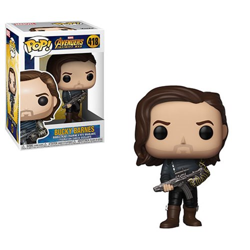 Avengers Bucky Barnes with Weapon Pop! Vinyl Figure #418