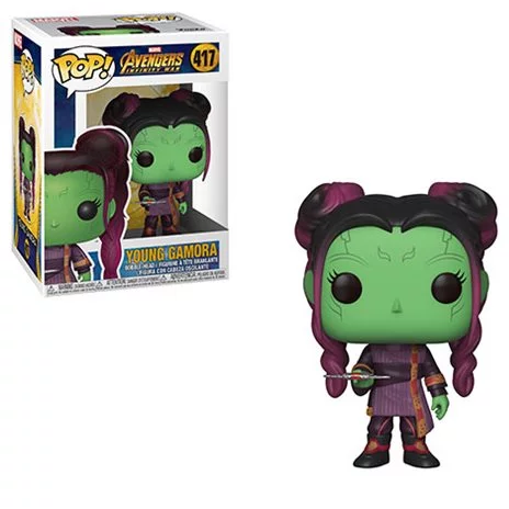 Avengers Young Gamora with Dagger Pop! Vinyl Figure #417