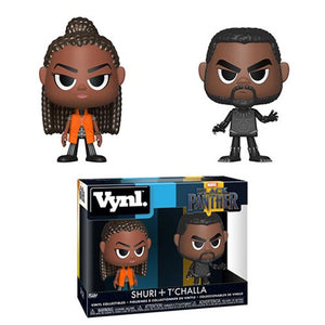Black Panther T'Challa and Shuri Funko Vynl. Figure 2-Pack