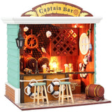 Captain Bar DIY Miniature Dollhouse