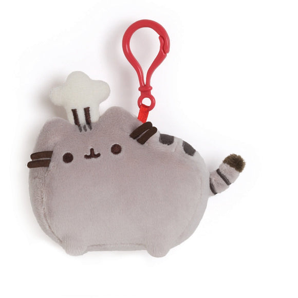Chef Pusheen Backpack Clip