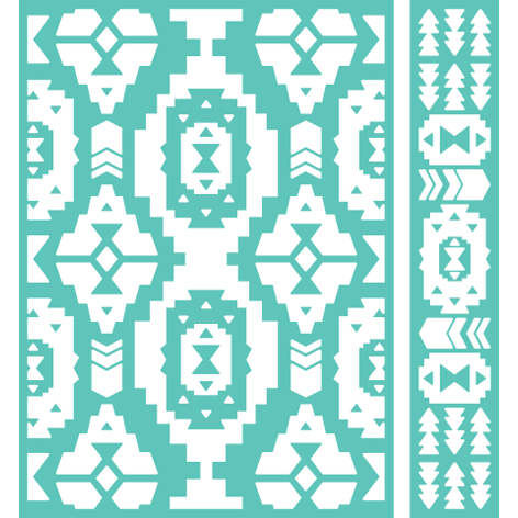 Cricut® 5x7 Embossing Folder & Border, Pueblo