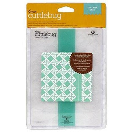 Cricut® Embossing Folder, Cane Back Chair, 5-Inch by 7-Inch