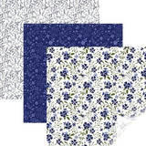 Cricut® In Bloom Blue Sampler Patterned Iron On