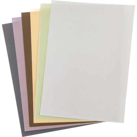 Cricut® Vellum, Metallics Color Variety