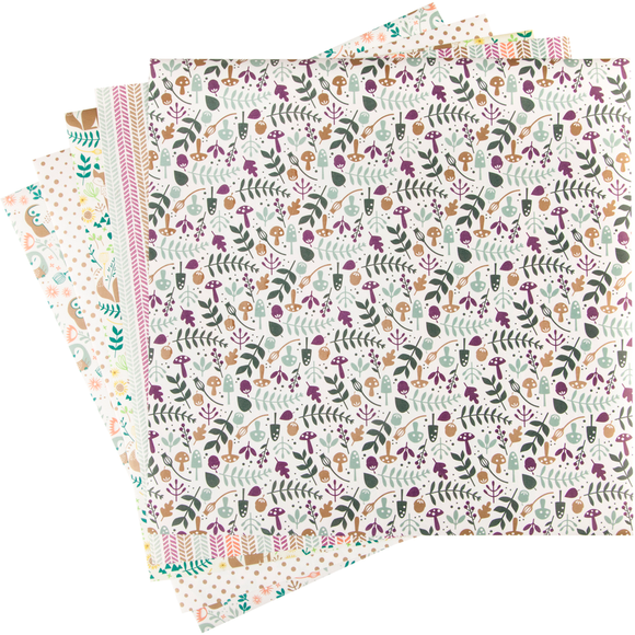 Cricut® Washi Sheets, Woodland by Lia Griffith