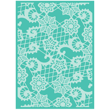 Cuttlebug™ 5x7 Heather's Lace Embossing Folder