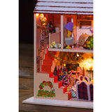 Happy Christmas Eve DIY Miniature Dollhouse