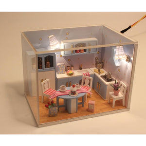 Love The Small Kitchen DIY Miniature Dollhouse
