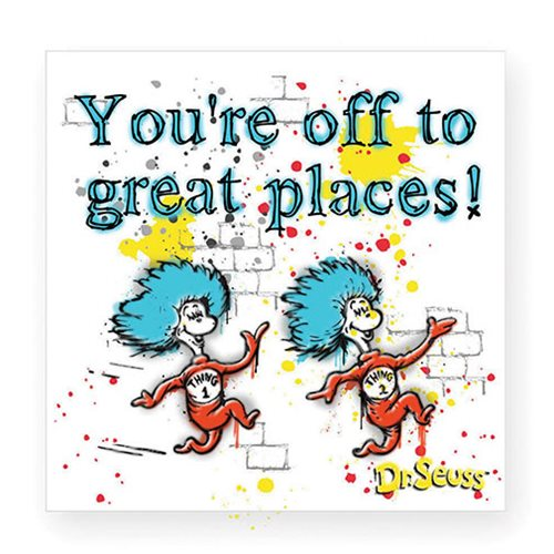 Dr. Seuss You're off to Great Places Magnet