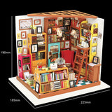 Sam's Study Room DIY Small Dollhouse