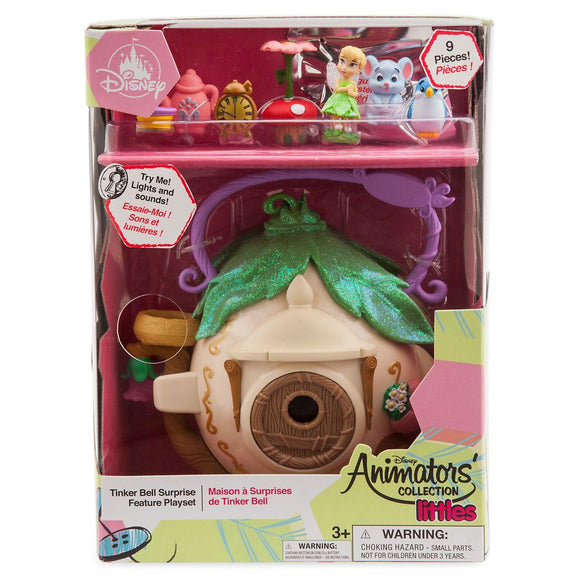 Disney Animators Littles Tinker Bell Surprise Feature Play Set