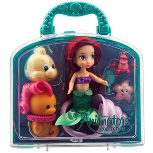 Disney Animators' Collection Ariel Mini Doll Play Set - 5''