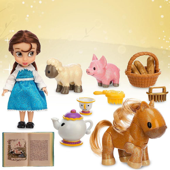 Disney Animators' Collection - Belle Mini Doll Play Set 5