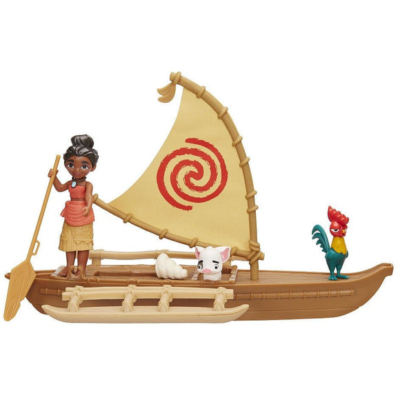 Disney Moana Adventure Canoe Playset