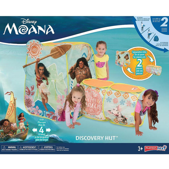 Disney Moana Discovery Hut Play Tent