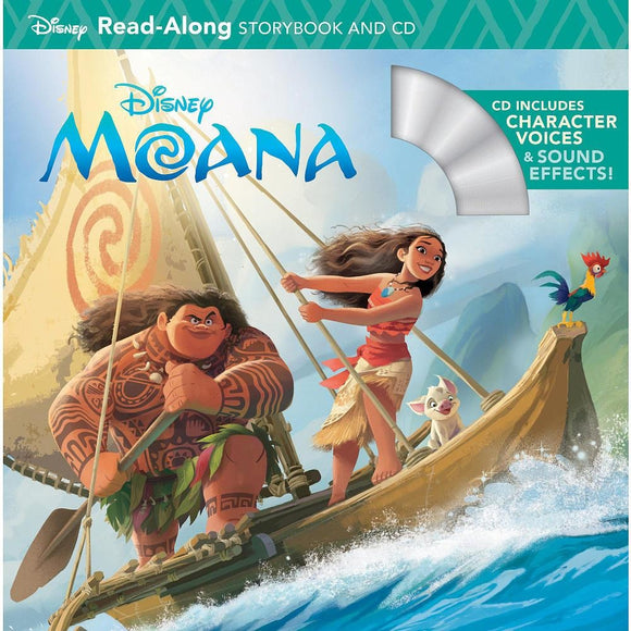 Disney Moana Read Along Storybook and CD