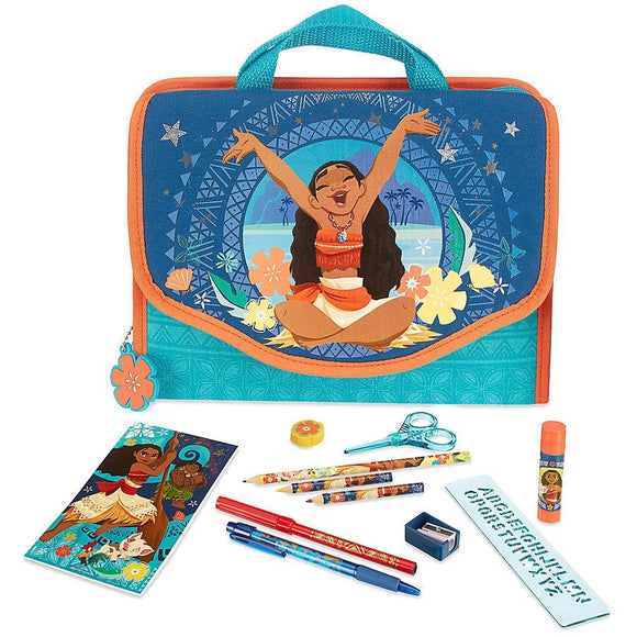 Disney Moana Zip-Up Stationery Kit