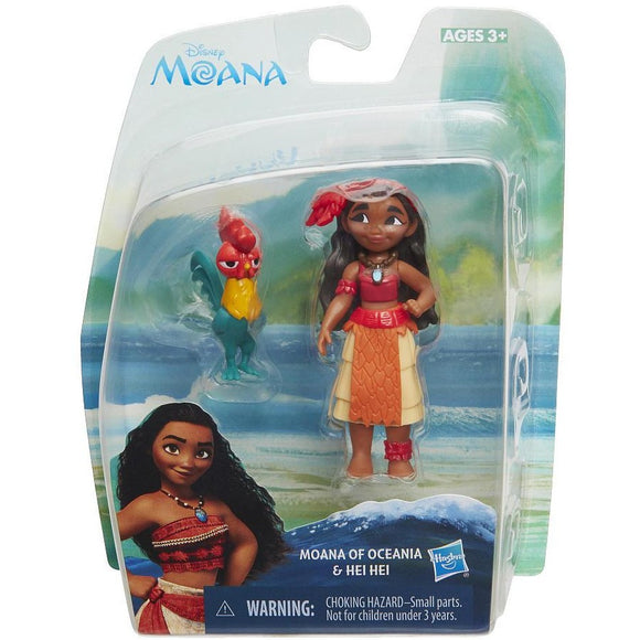 Disney Moana of Oceania and Hei Hei Playset