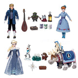 Disney Anna And Elsa Singing Doll Set - Olaf's Frozen Adventure