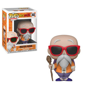 Dragon Ball Z Master Roshi with Staff Pop! Vinyl Figure #382