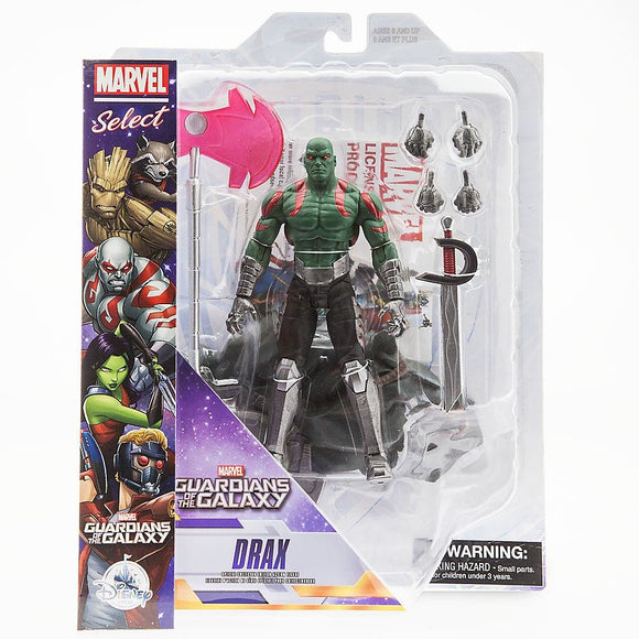 Drax Action Figure - Guardians of the Galaxy - Marvel Select - 7
