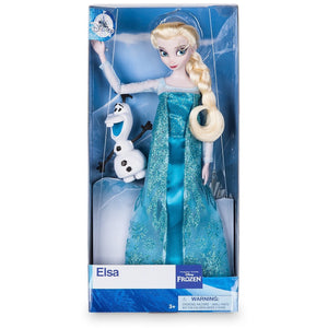 Elsa Classic Doll with Olaf Figure - 11 1/2''