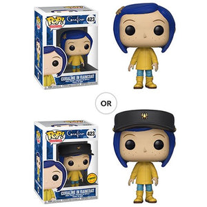 Coraline Coraline in Raincoat Pop! Vinyl Figure #423