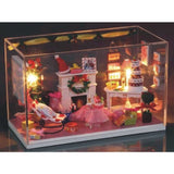 Merry Christmas DIY Miniature Dollhouse