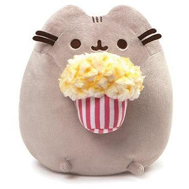 Pusheen the Cat Pusheen Popcorn 9 1/2-Inch Plush