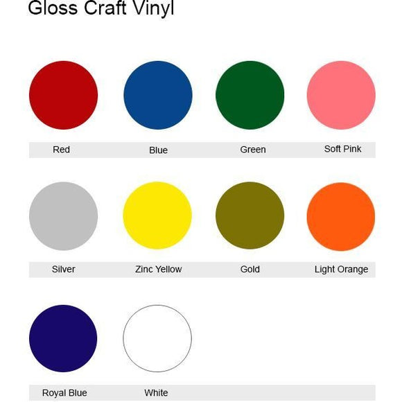 Glossy Craft Vinyl Sticker Generic