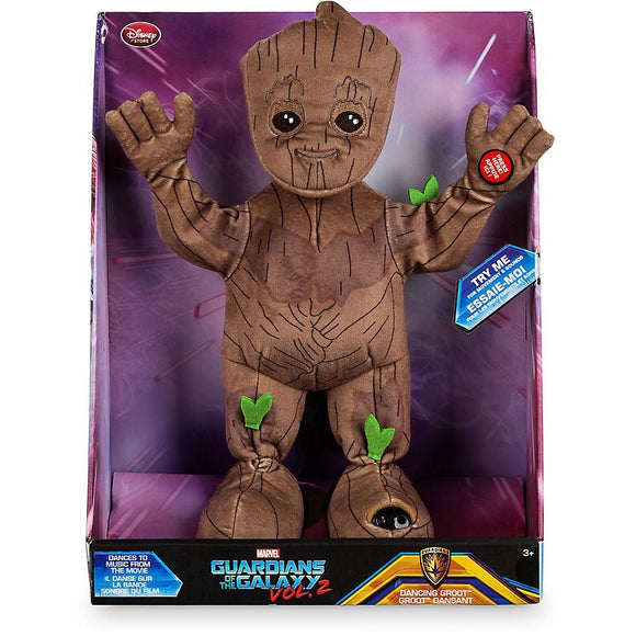 Groot Dancing Plush - Guardians of the Galaxy Vol. 2 - Small - 13''